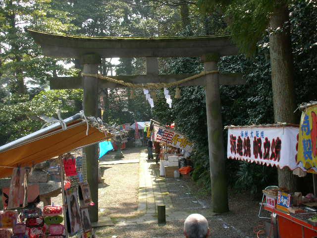 天津神社鳥居