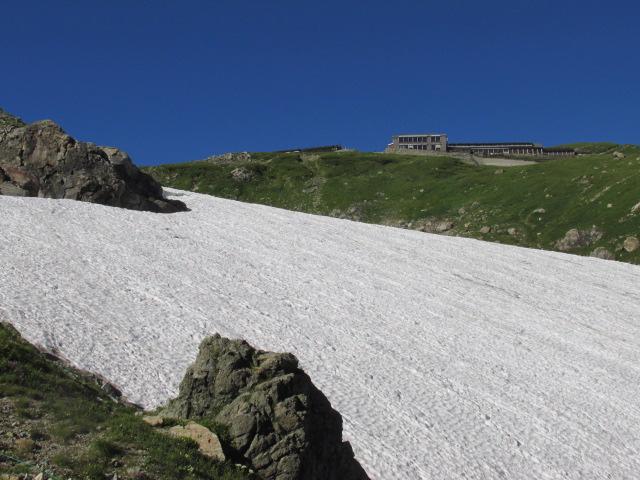 白馬登山12