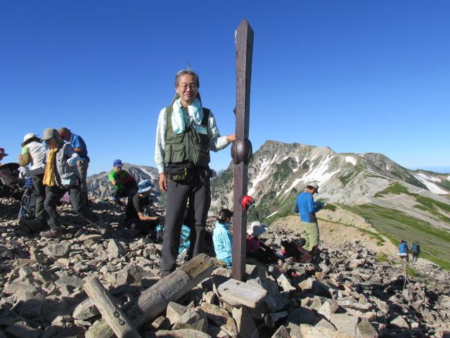 白馬登山24
