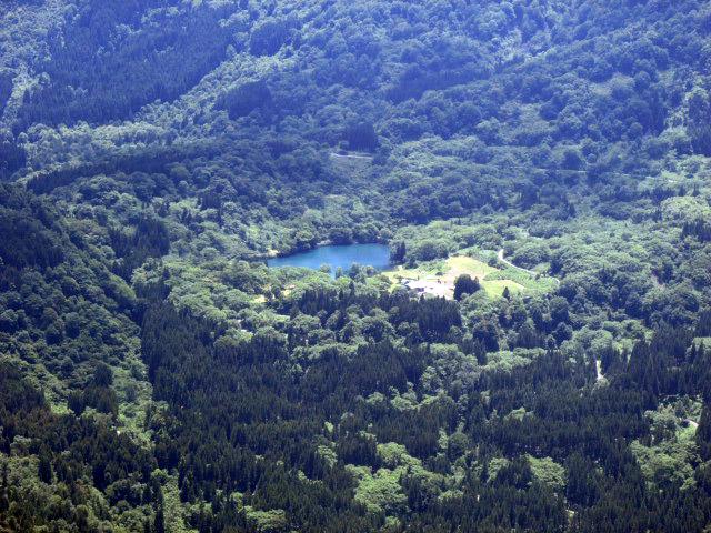 明星山から高浪の池
