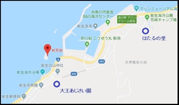 弁天岩マップ