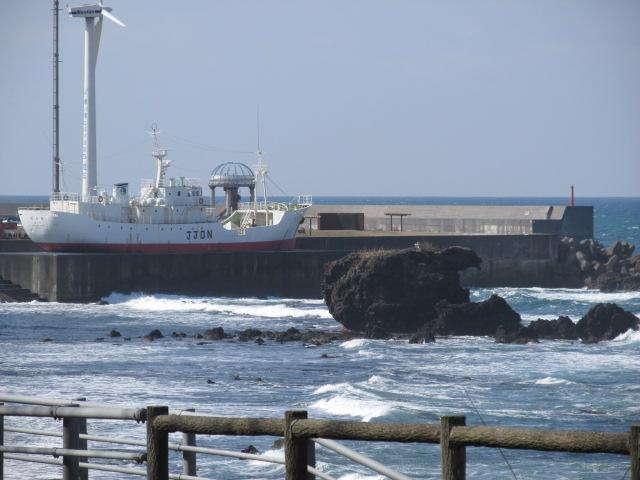 海洋丸とトットコ岩