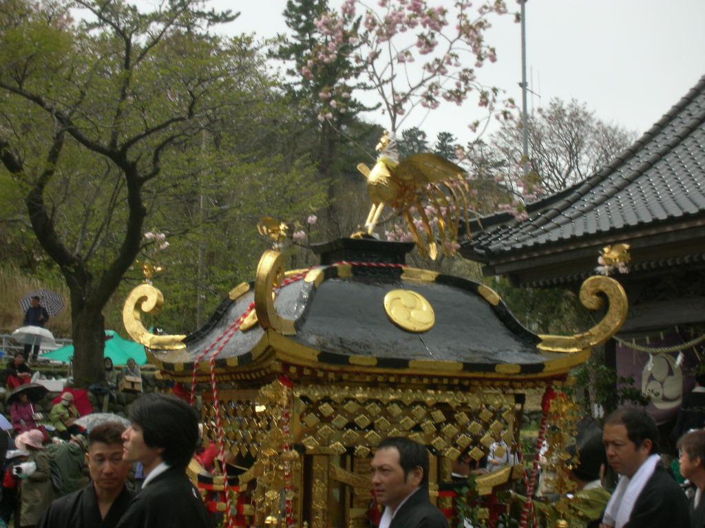 白山神社春大祭 神輿