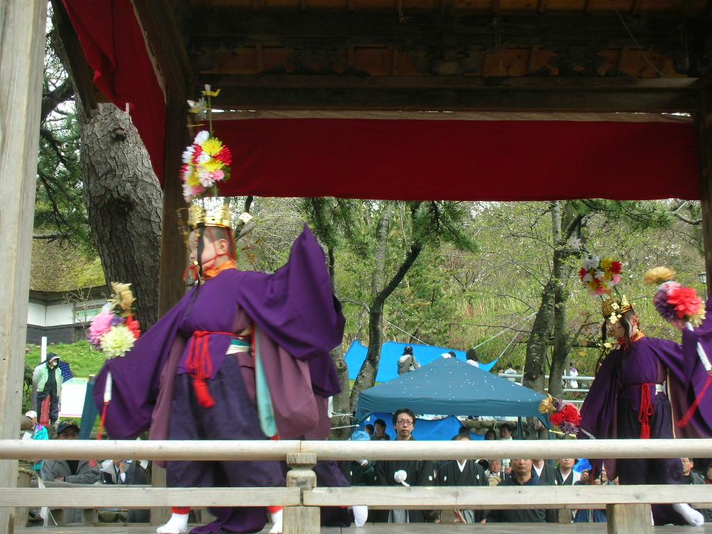 白山神社春大祭 輪歌(りんが)1