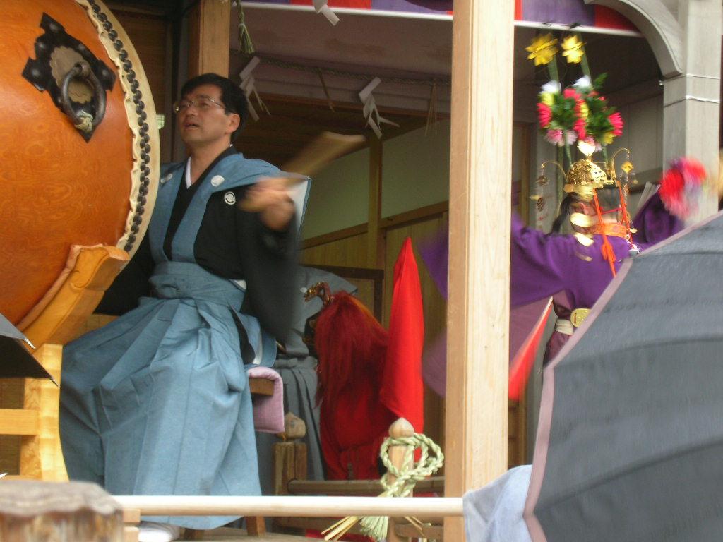 白山神社春大祭 輪歌(りんが)3
